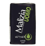 Malizia Uomo Vetyver Bar Soap - Pack of 12 x 100 g
