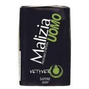 Malizia Uomo Vetyver Bar Soap - Pack of 12 x 100 g