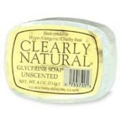 Clearly Natural Glycerine Soap, Unscented - 120ml