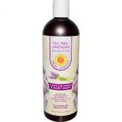 Tea Tree & Lavender Liquid Soap Natural Sunfeather 470ml Liquid