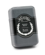 Mistral Men's Soap, Black Amber, 250 Grammes