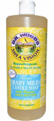 Dr. Woods - Organic Castile Soap Baby Mild Unscented
