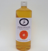 Carolina Castile Soap Orange w/Organic Macadamia Nut Oil & Cocoa Butter - 950ml