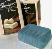 1960's Vintage Ceramic BOUTIQUE SOAP DISH Classique Bath RUBBER QUEEN