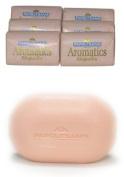 6-pack - Greek Soap - Aromatics - Magnolia - 125 Gr Bar