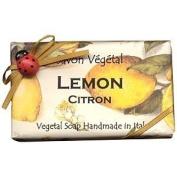 Alchimia Ladybug Natural Large Moisturising Soap From Italy - Lemon