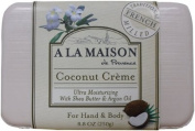 A La Maison Bar Soap - Coconut Creme - 260ml A La Maison Bar Soap - Coconut Creme - 260ml