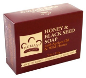 Nubian Soap Honey & Black Seed Soap With Apricot Oil/Honey 140g
