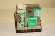 Detox Spa @ Home Gift Set with 120ml Detox Massage Oil. 90ml Detox Bath Salt and 120ml Bar of Lemongrass Aromatherapy Soap