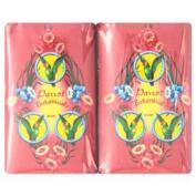Parrot Botanicals Red Colour Orange Jessamine Organic Body Soap Bar 80g X 4pcs.
