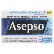 Asepso Protects Body Odours Formula Soap 80g x 3 pcs