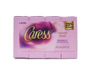 Caress Velvet Bliss Silkening Beauty Bar Soaps 24 Bars 120ml Each