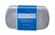 Crystal Peel Microdermabrasion Exfoliating Soap Body Bar, 240ml
