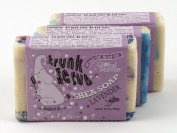 Trunk Scrub Shea Soap Fair Trade Lavender 3 Bars