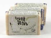 Trunk Scrub Shea Soap Fair Trade Noni and Lemon Grass 3 Bars