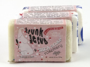 Trunk Scrub Shea Soap Fair Trade Rosemary 3 Bars