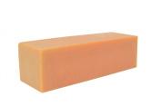 Orange Oatmeal Olive Oil Soap Loaf -3 Pounds