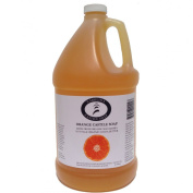 Carolina Castile Soap Orange w/Organic Cocoa Butter & Macadamia Oil- 3.8l