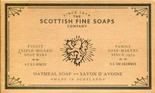scottish fine soaps oatmeal soap 4 x 100 shipping included ebay. Black Bedroom Furniture Sets. Home Design Ideas