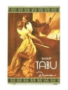 3 Pack NEW Tabu Danan Soap BAR Purfume Cleanser