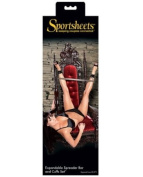 Sportsheets expandable spreader bar & cuffs set