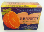 3 Pack Vitamin C & E Soap Bennett Natural Extracts Smooth Skin Within 2 Weeks