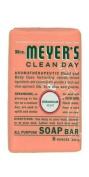 Mrs. Meyer's Clean Day Bar Soap, Geranium, 227 g Bars