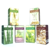 Top 6 Maithong Natural Herbal Soap (100g Each); Lemongrass, Turmeric, Aloe Vera, Mangosteen, Green Tea, Jasmine Rice