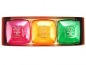 N/A Shiseido Honey Cakes Translucent Soap Set 3 x