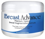 BREAST ADVANCE - Premium, Topical Breast Augmentation Formula - The Safe, Natural Choice for Bust Enhancement, Enlargement - 120ml