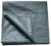 Coleman Footprint For Coastline 6 Person Tent Accessory - Black