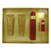 Perry Ellis 360 Red by Perry Ellis Gift Set -- 100ml Eau De Parfum Spray + 90ml Body Lotion + 90ml Shower Gel + 5ml Mini  Eau De Parfum   Spray