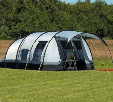 Livingstone - 4 Berth Tunnel Tent - 2013