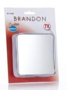 Brandon Femme 7x Square Suction Mirror, 10cm