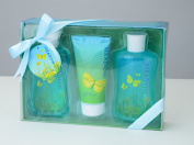 Meadow Bath Spa Gift Box, Shower Gel,Bubble Bath,Body Lotoin