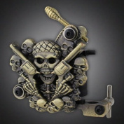 Empaistic Pro Skull Tattoo Machine Gun 10-wrap Coils for Liner / Shader