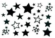 Male and Female Tattoo Stickers Waterproof Stars Star Fake Tattoo