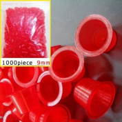 1000pcs Small Tattoo Ink Cups Plastic Caps for tattoo especially