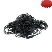 Element Tattoo Supply Black Rubber Bands 500 pack for Machine Needles