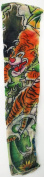 Tattoo Sleeve - Japanese New School Tiger Tattoo Sleeve