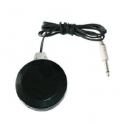 New! Black Round 360 Degree Switch Tattoo Machine Foot Pedal. TP-320
