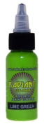 Radiant Colours - Lime Green - Tattoo Ink 30ml MADE IN USA