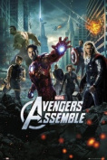 The Avengers One Sheet Poster - 91.5 x 61cms