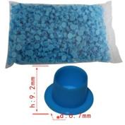 1000pcs Tattoo Plastic gun machine grip INK Blue(small) CUPS CAPs 9mm #0009117