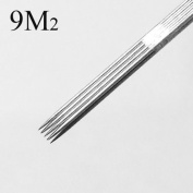 9 Double Stacked Magnum Tattoo Needles