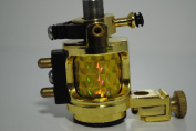 Premium Handmaded Rotary Tattoo Machine, Gold, OTW-MD1-1