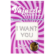 "Vajazzle Crystal Tattoos âEUR"" I Want You"