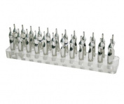 24 Holes Tattoo Accessory Tattoo Tip Holder For Stainless Steel Tips supply