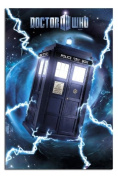 Doctor Who Tardis Metallic Poster - 91.5 x 61cms