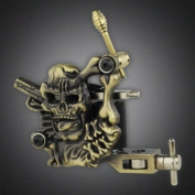 New Empaistic Tattoo Machine Gun Liner Shader Dual 10 Wrap Coil Equipment Supply